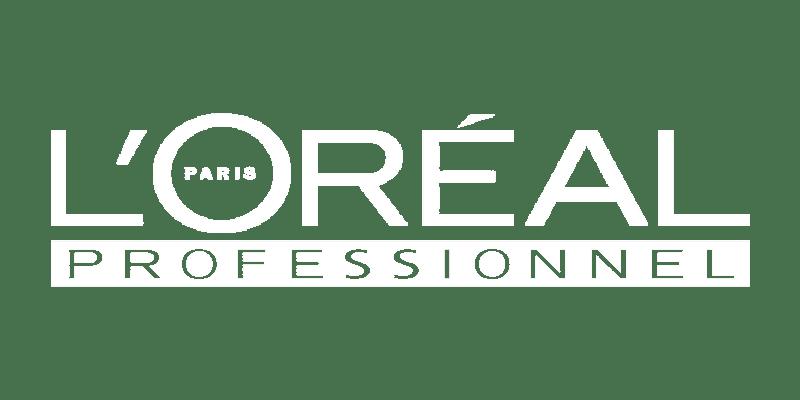 L'oreal Professionel Logo White